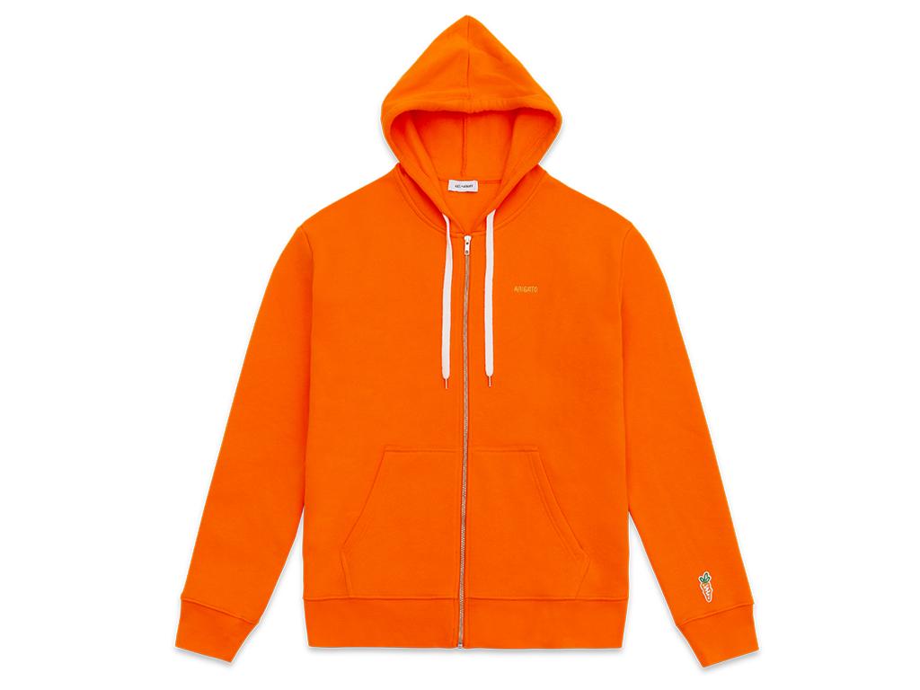 Carrots x Axel Arigato zip hoodie
