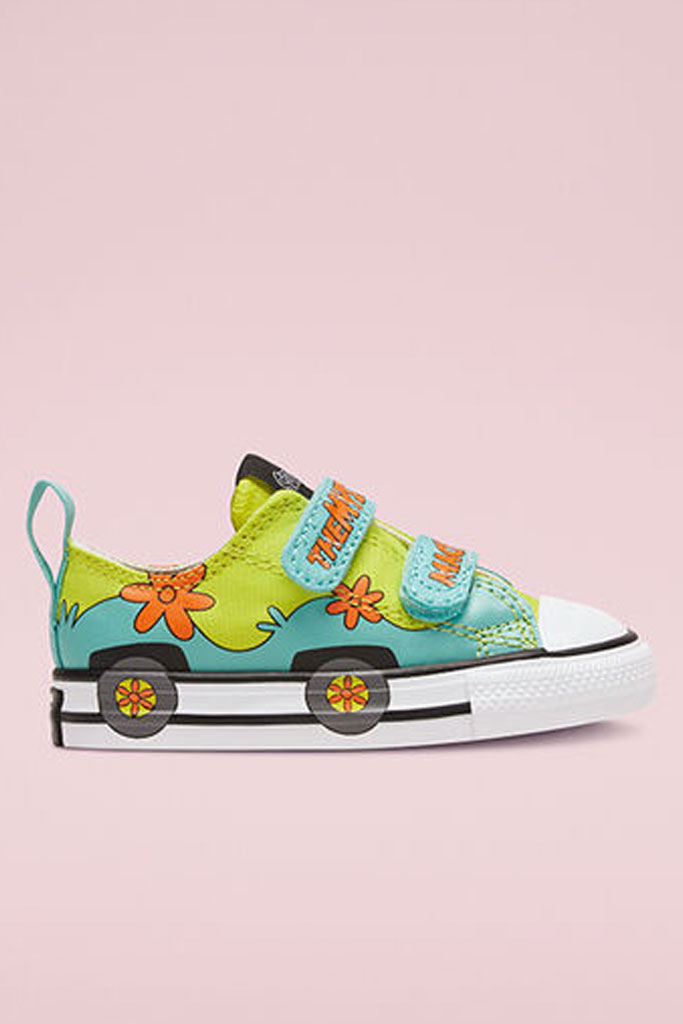 converse, Scooby Doo, Chuck Taylor, low top, collab, children's