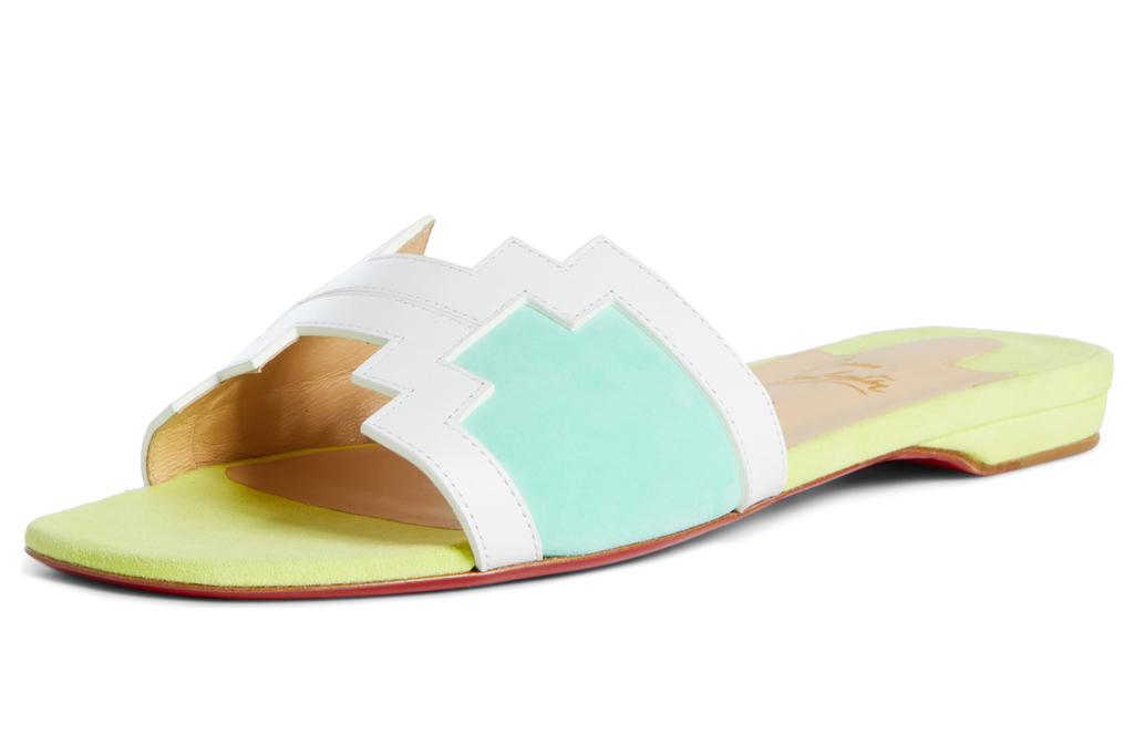 christian louboutin, sandals