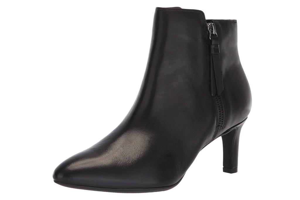 clarks, black, boots
