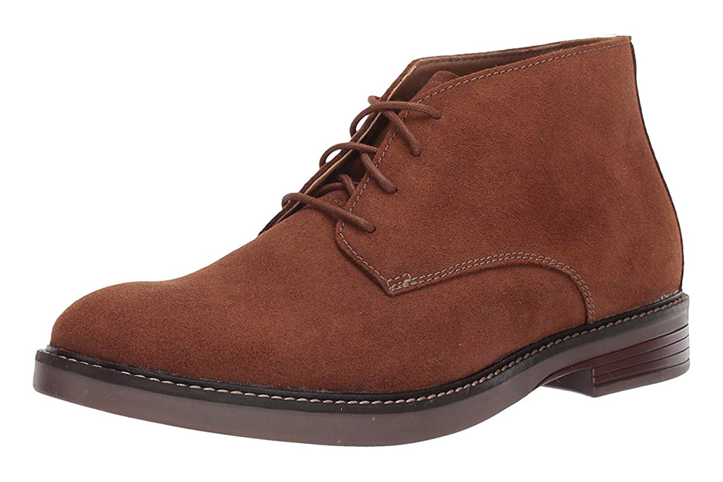 clarks boots, men, lace up