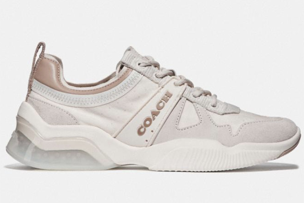 coach summer sale, coach city sole runner, white sneaker