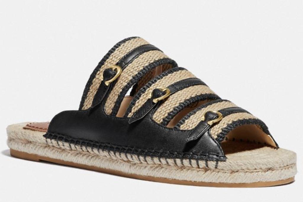 coach espadrille sandal, coach sandal, coach sale