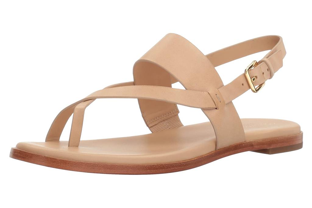 cole haan, sandals, nude