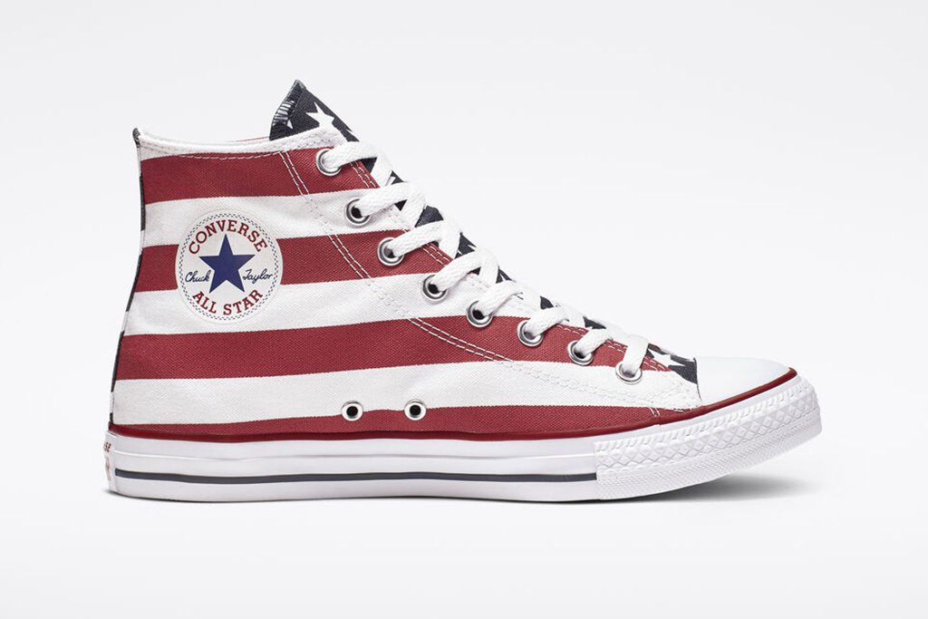 converse, amerciana chuck taylor, red white and blue converse
