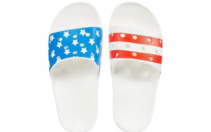 Crocs Classic American Flag Slide