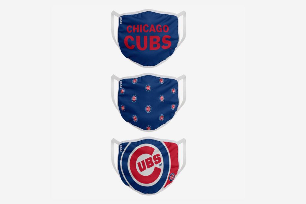chicago cubs, face masks
