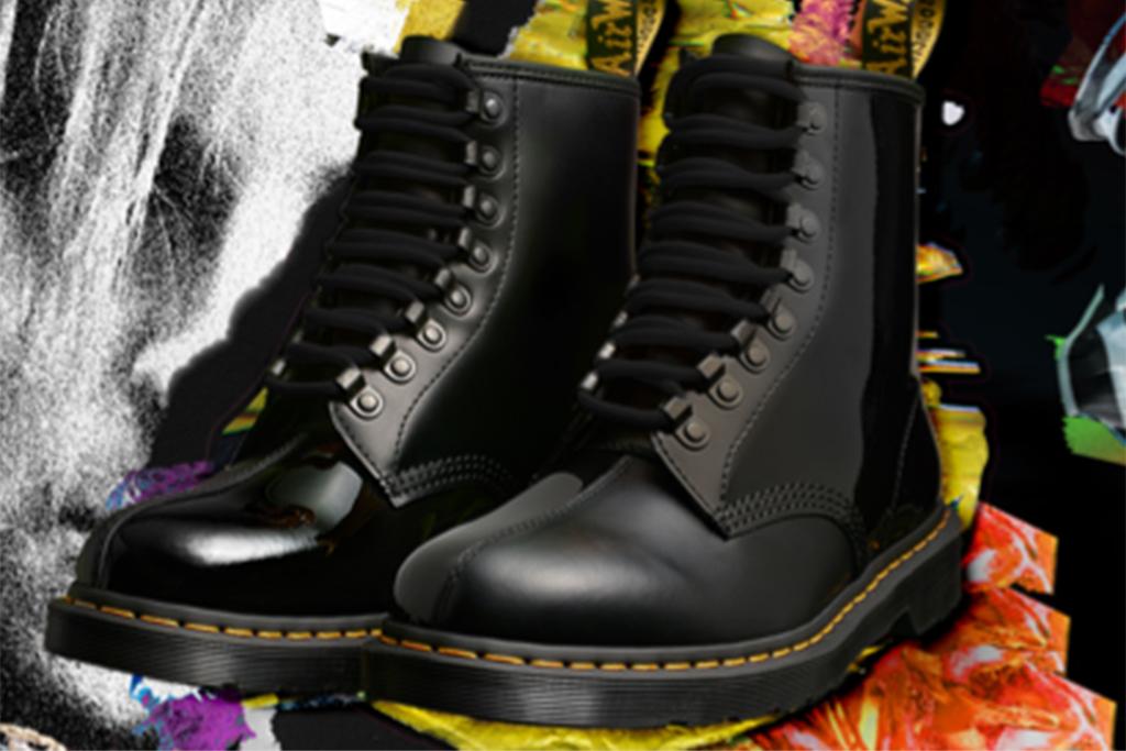 dr. martens x pleasures, dr. martens 1406 boot, dr. marten boot