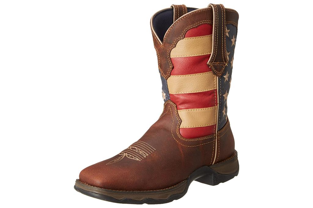 durango, american flag, boots