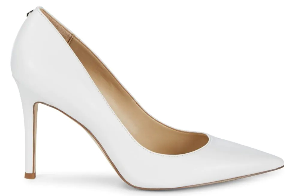sam edelman, white pumps