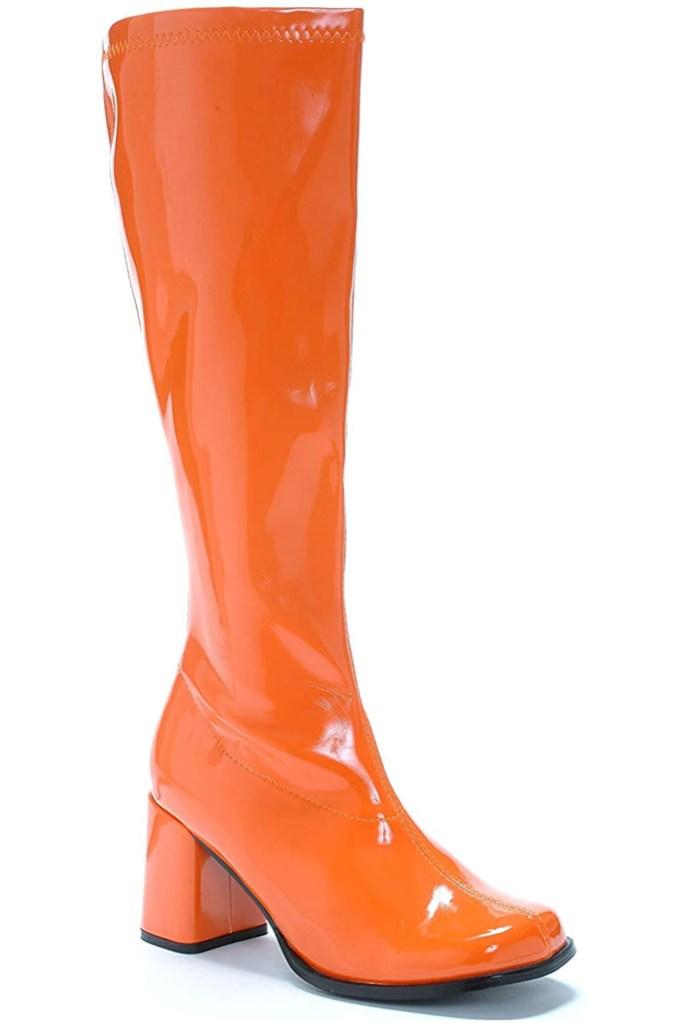 Ellie Shoes, orange boots