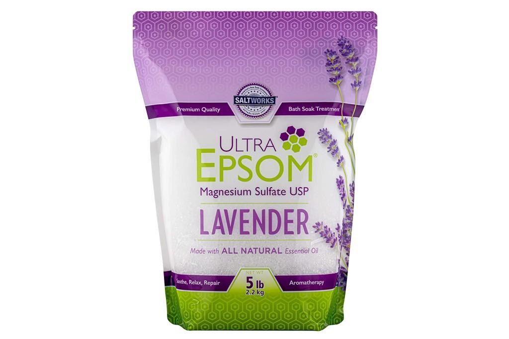 SaltWorks Ultra Lavender Epsom Salt