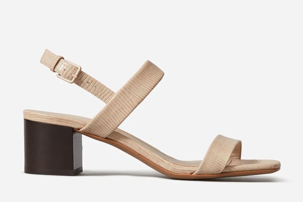 everlane sale, everlane shoe, everlane sandal