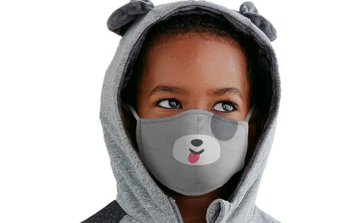 face masks, kids