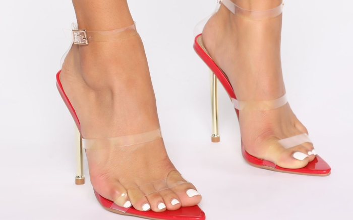 Fashion Nova Promiscuous Girl Heeled Sandals