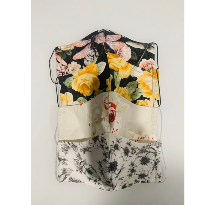 Floral-Cotton-Mask-With-Filter-Pocket