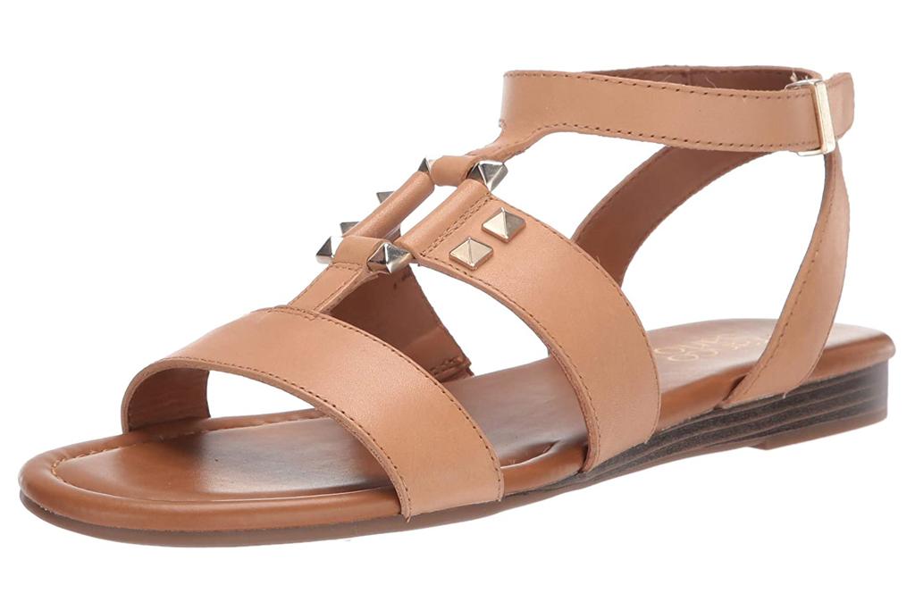 franco sarto, sandals, nude, gladiator