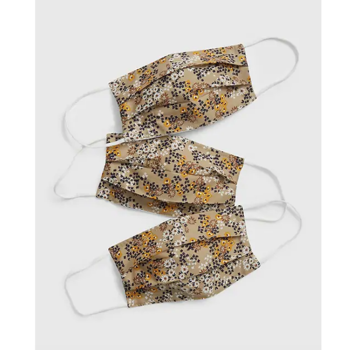 Gap-Adult-Beige-Floral-Masks
