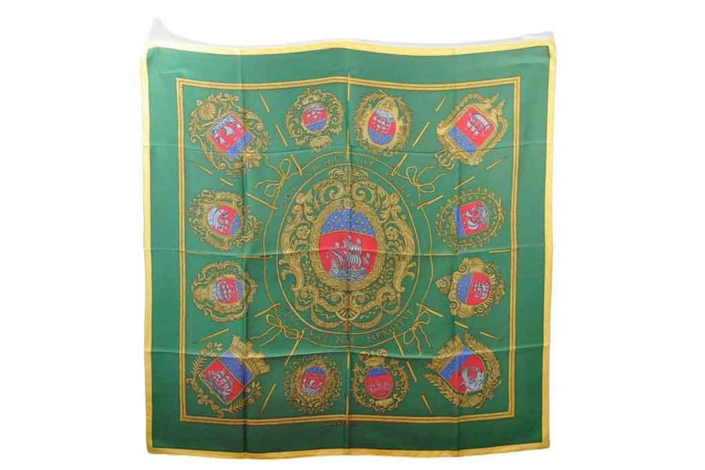 Hermès, silk scarf