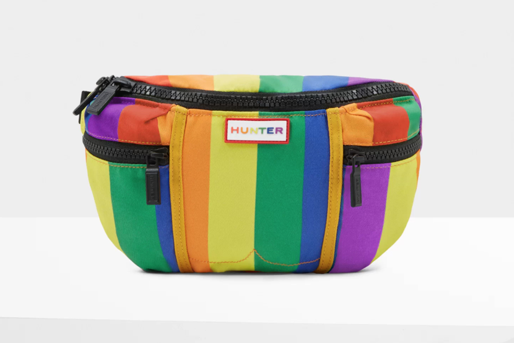 hunter, pride, boots, rainbow, lgbtiq, backpack