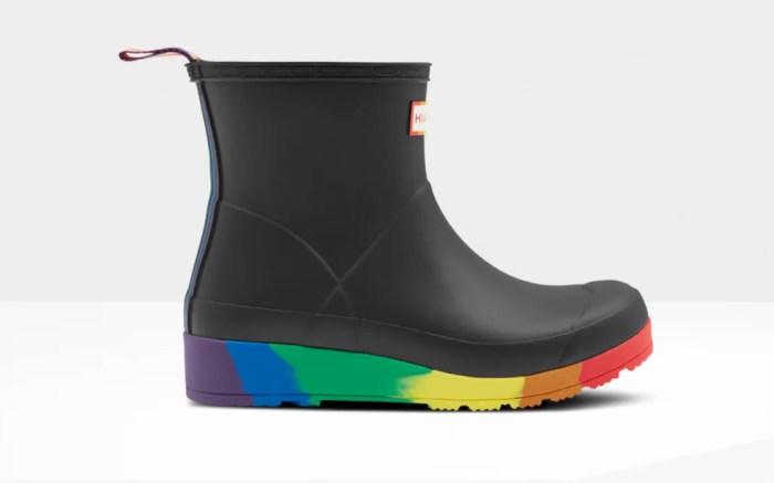 hunter, pride, boots, rainbow, lgbtiq,