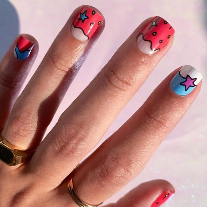 CirqueColors Candy Coat Nail Wraps, nail strips
