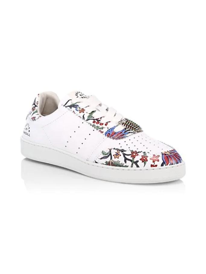 Loeffler Randall Keeley Provincial Floral Sneakers, floral sneakers