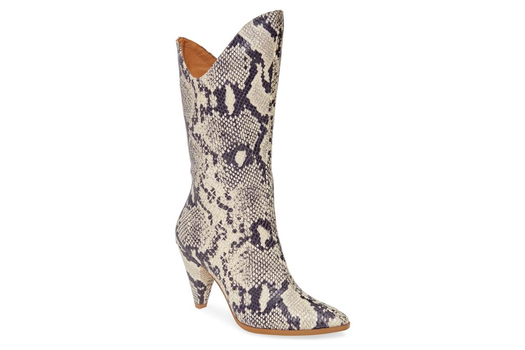 jaggar boots, snakeskin
