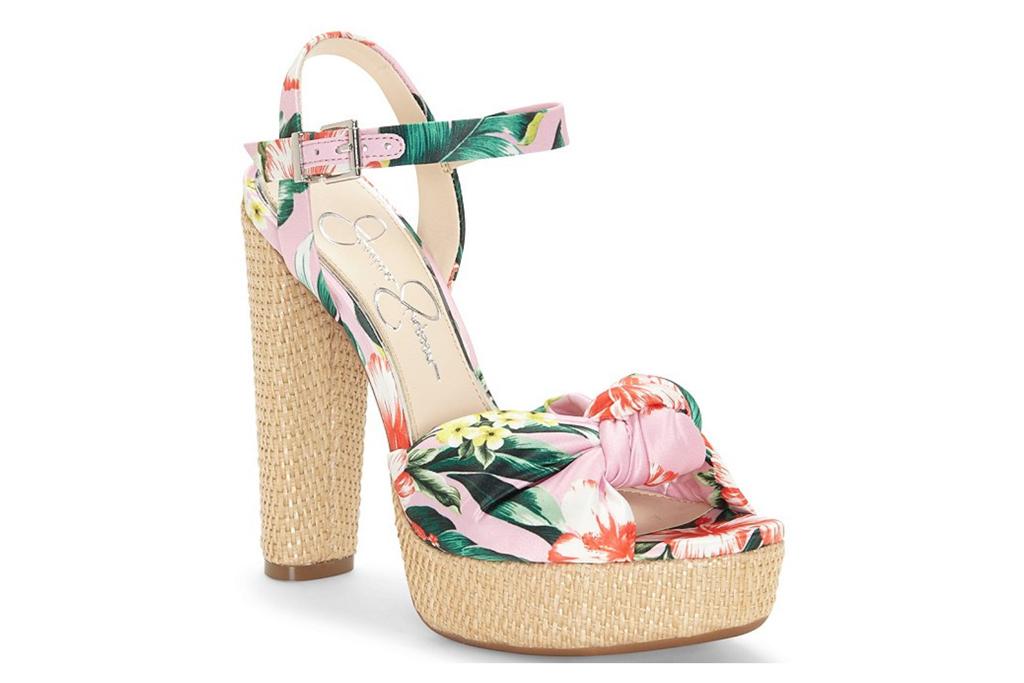 jessica simpson, floral, platform, wedges