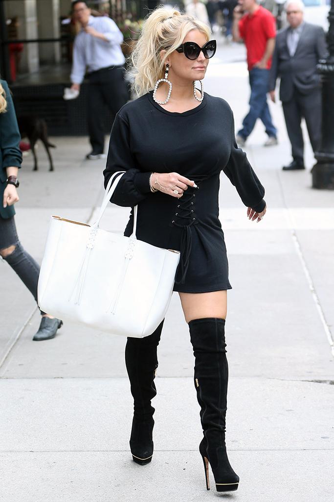 Jessica Simpson's Hottest Heels Style