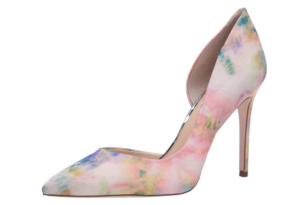 jessica simpson, tie dye, heels