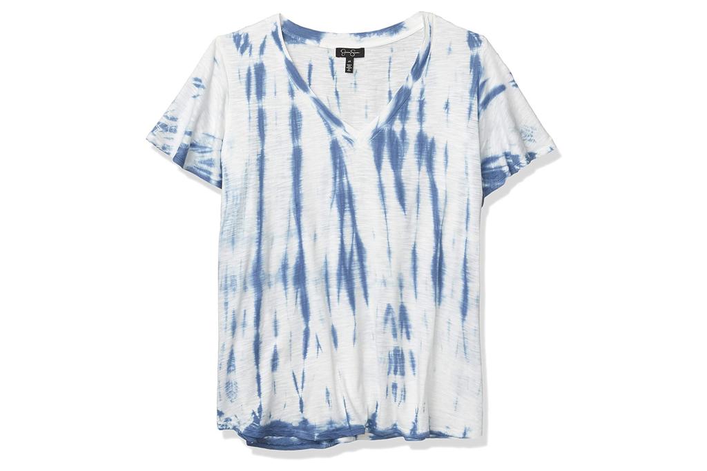 jessica simpson, tie dye, t-shirt