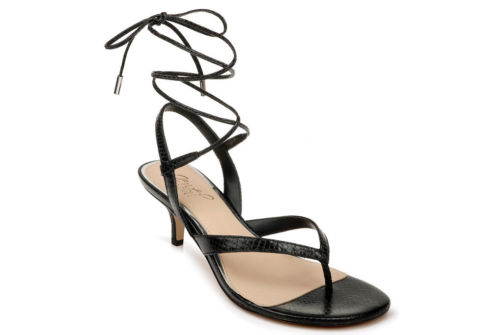 Jewel Badgley Mischka Nolin Lace-Up Sandal