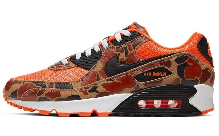 Nike Air Max 90 'Orange Camo'