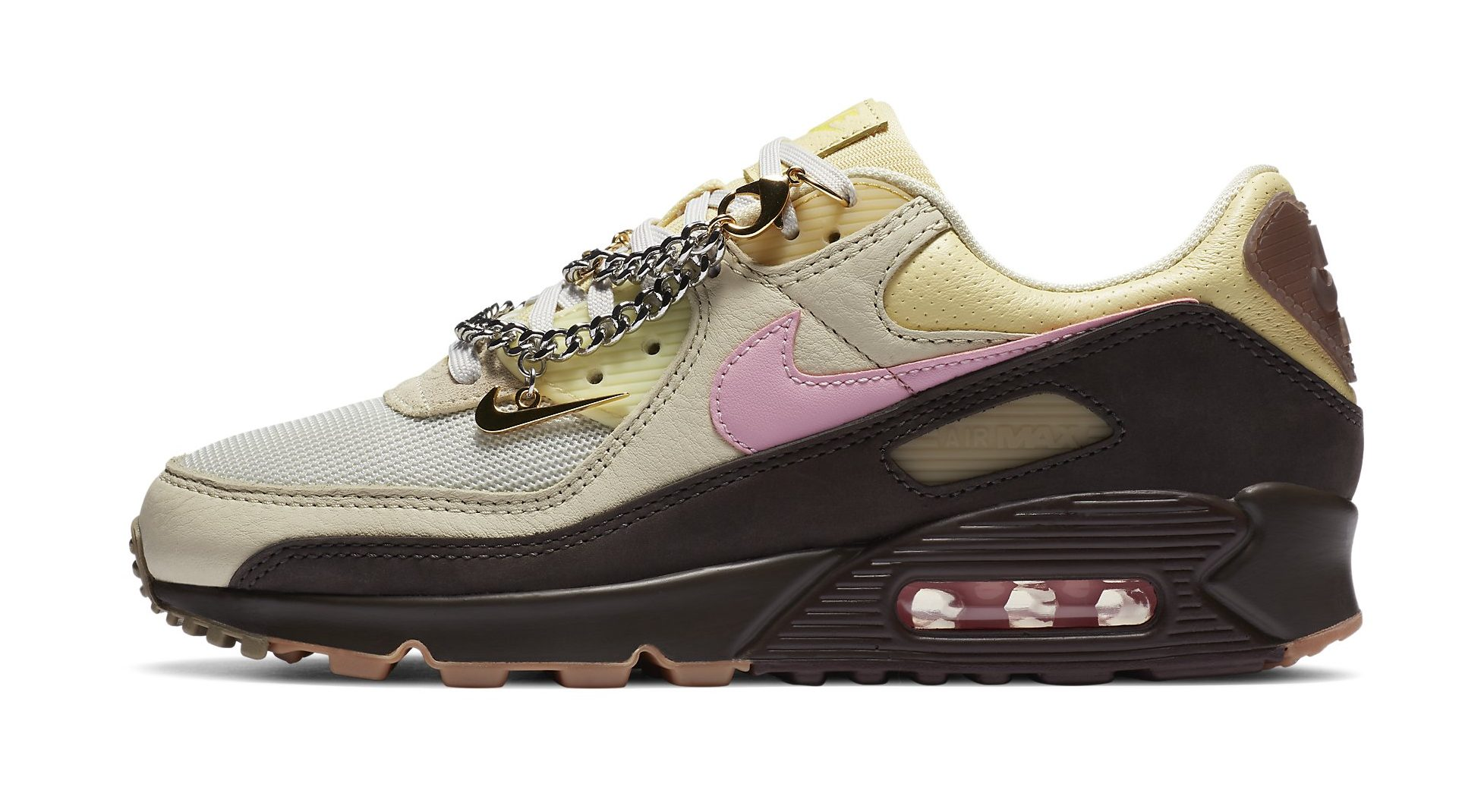 Uluru alto Señor  Nike Air Max 90 & Air Max 95 With Detachable Jewelry: Release Date –  Footwear News