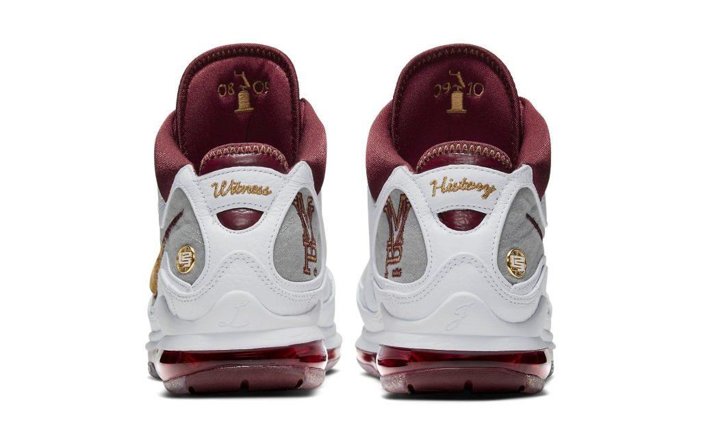 Nike LeBron 7 'MVP' Heel