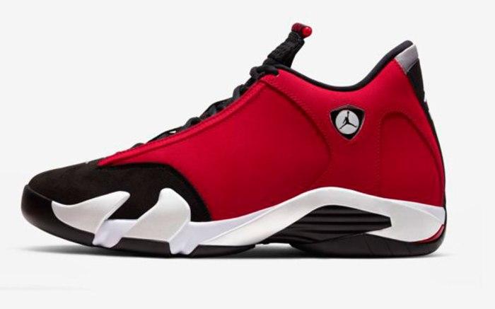 xAir Jordan 14, Michael Jordan, Nike, Chicago Bulls, Gym Red