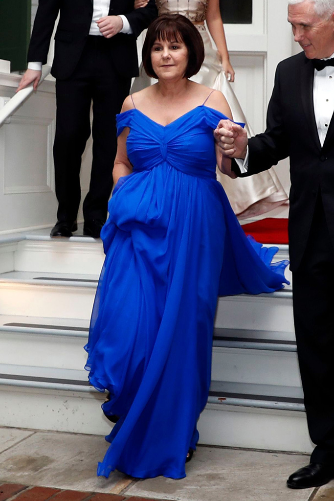 Karen Pence S Fashion As Second Lady Photos Of Her Style Footwear News