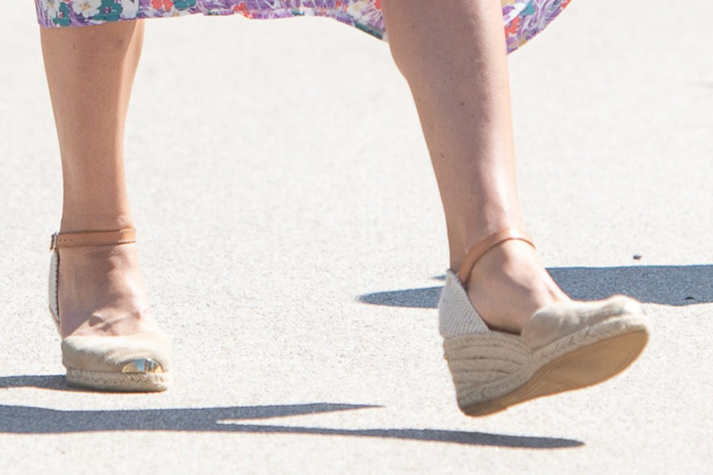 Kate Middleton, espadrille wedges, russell and bromley, street style, norwich, uk