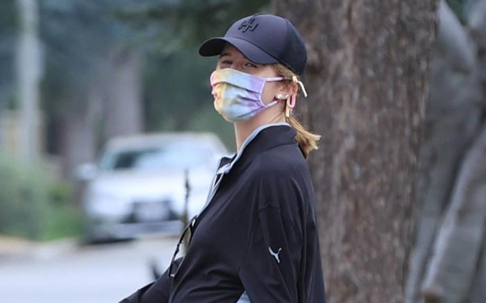 katherine-schwarzenegger-style-mask-tie-dye