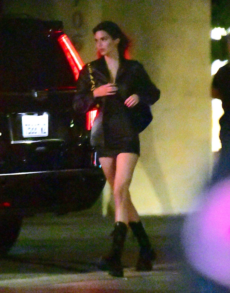 Kendall Jenner , prada combat boots, minidress, legs, street style, fashion, was spotted leaving Nobu Malibu after a late dinner on Monday night. The runway model showed off her long legs in a tiny black dress and combat boots. After dinner she headed to a Private House party celebrating Stassi Karanikolaou's Birthday.Pictured: Kendall JennerRef: SPL5171081 090620 NON-EXCLUSIVEPicture by: DIGGZY / SplashNews.comSplash News and PicturesUSA: +1 310-525-5808London: +44 (0)20 8126 1009Berlin: +49 175 3764 166photodesk@splashnews.comWorld Rights, No Portugal RightsKendall Jenner was spotted leaving Nobu Malibu after a late dinner on Monday night. The runway model showed off her long legs in a tiny black dress and combat boots. After dinner she headed to a Private House party celebrating Stassi Karanikolaou's Birthday.Pictured: Kendall JennerRef: SPL5171081 090620 NON-EXCLUSIVEPicture by: DIGGZY / SplashNews.comSplash News and PicturesUSA: +1 310-525-5808London: +44 (0)20 8126 1009Berlin: +49 175 3764 166photodesk@splashnews.comWorld Rights, No Portugal Rights