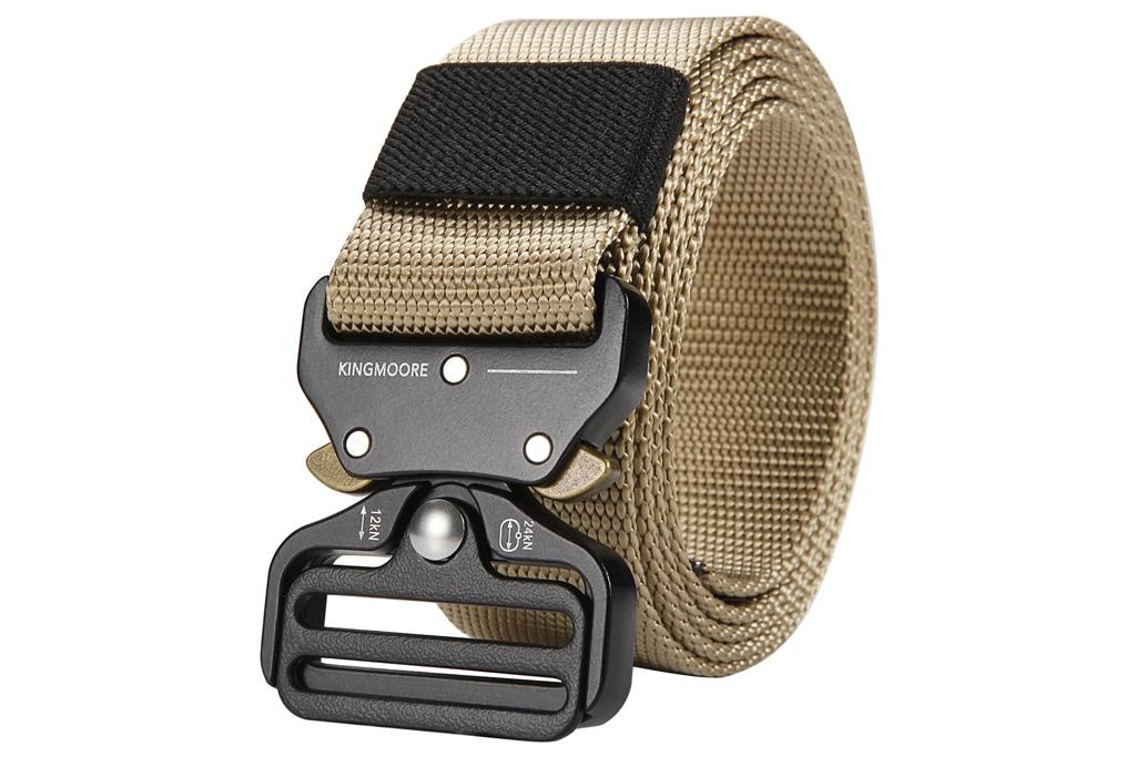 king moore, tactical belt
