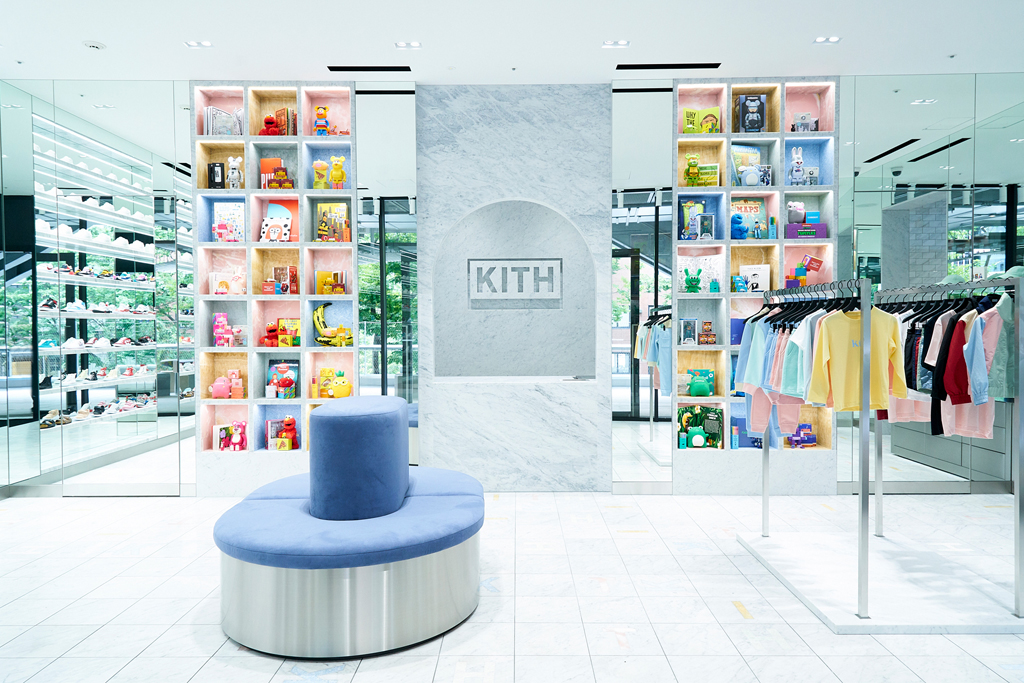 kith, tokyo, store, international, shoes, clothes, shop, retail