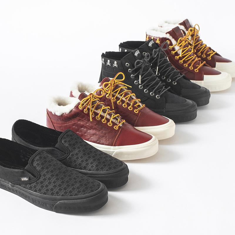 kith, vans, mastermind, sneakers