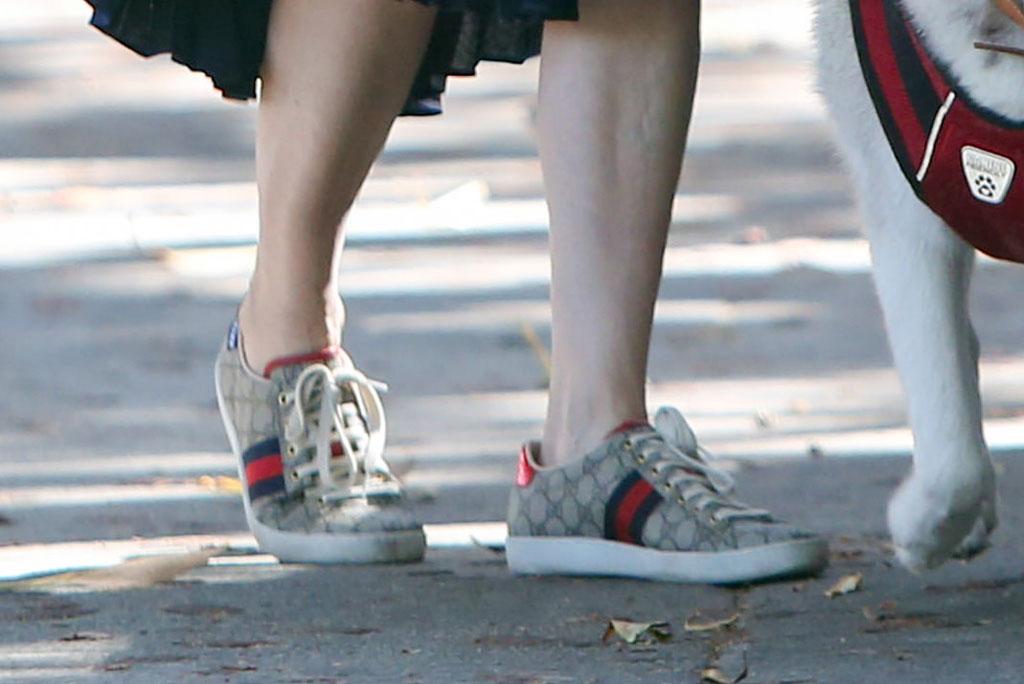 Laura Dern, gucci sneakers, street style