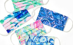 Lilly Pulitzer, Masks, Pink Pelican, Sale,