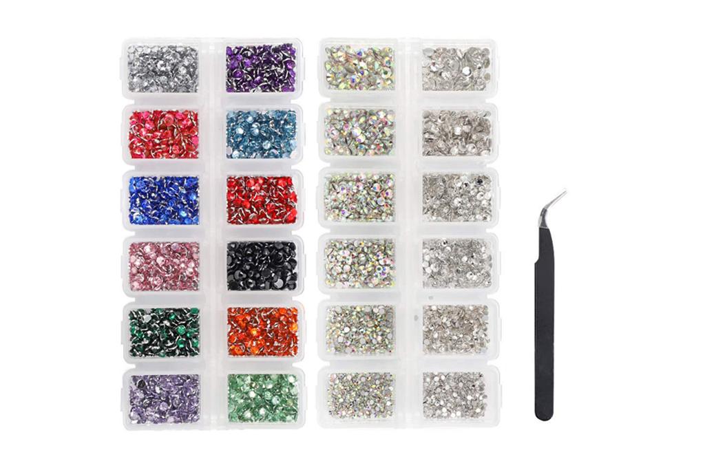 lim, nail, gems
