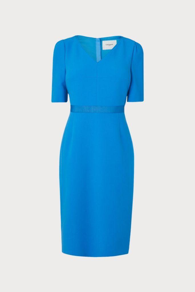 blue lk bennett dress