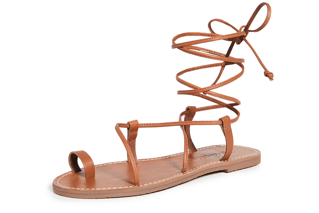 madewell, sandals, wrap