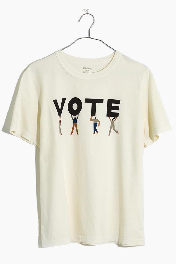 madewell vote tee